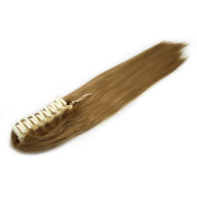Ponytail Extensions hair claw, Straight - Rubbio miel #27