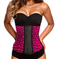 AVA® Waist Trainer Latex  - Rosa Leopardo