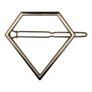SOHO® Pyramid Metal Hair Clip - Gold