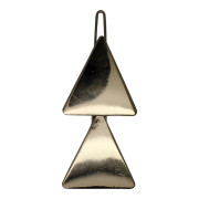 SOHO® Triangles Metal Hair Clip - Gold