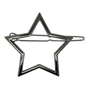 SOHO® Star Metal Hair Clip - Silver