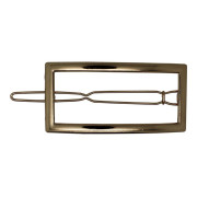 SOHO® Frame Metal Hair Clip - Gold