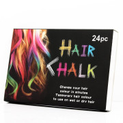Hair Chalk® set of 24 Temporary Hair Chalk