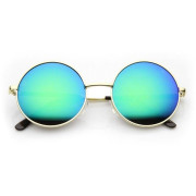 Retro Sunglasses - Round Rainbow Glass