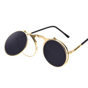 Steampunk Sunglasses - Gold