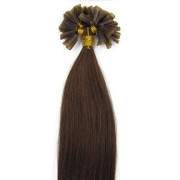 Extensiones de queratina 50cm Marrón Chocolate #4
