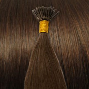 Extensiones de micro ring 50cm Marrón Chocolate #4