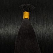 Extensiones de micro ring 50cm Negro Natural #1B