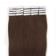 Extensiones Adhesivas 50cm Marrón Chocolate #4