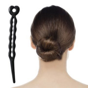 Magic Hair Bun II  – Negro